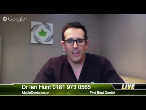 Finding best dentist in Sale, Manchester. Dr Ian Hunt, Maple Dentalcare.