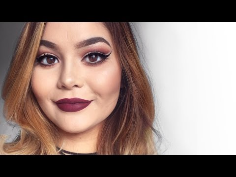 Get Ready With Me || Thanksgiving (Fall Makeup)