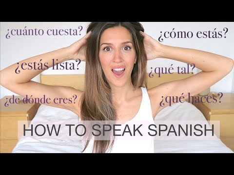 TOP TIPS FOR SPEAKING SPANISH - How to Learn a Language Quickly and Become Fluent | natalie danza