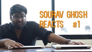 Sourav Ghosh Reacts | Stand up comedy reaction Video