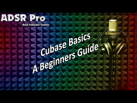 A beginners guide to music production. Cubase Basics creating a beat