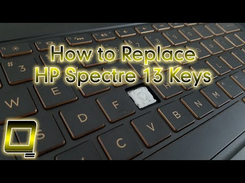 How to Replace HP Spectre 13 Laptop Keys