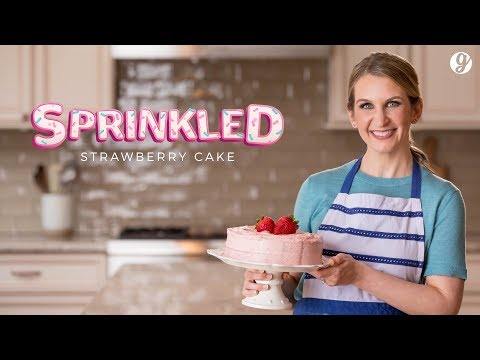 Sprinkled Episode 1: Homemade Strawberry Cake