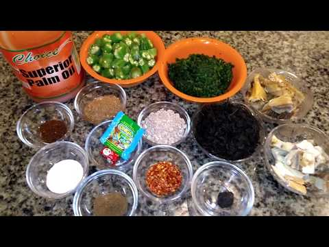 HOW TO COOK PERFECT OGBONO WITH OKRO SOUP