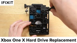 Xbox One X Hard Drive Replacement-How To