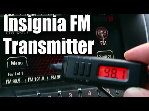 Insignia FM Radio Transmitter w/ 8-Pin Apple Lightning Connector Review