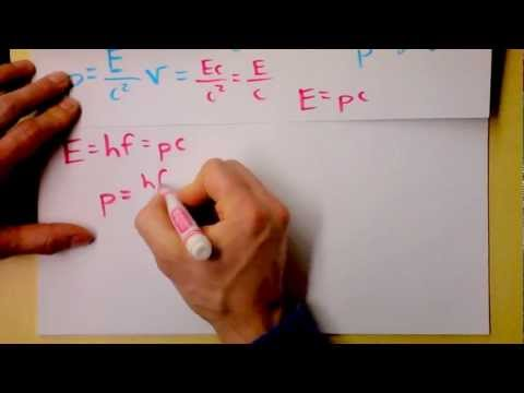 Light has Momentum and Kinetic Energy but no Rest Mass.  What's up now? | Doc Physics