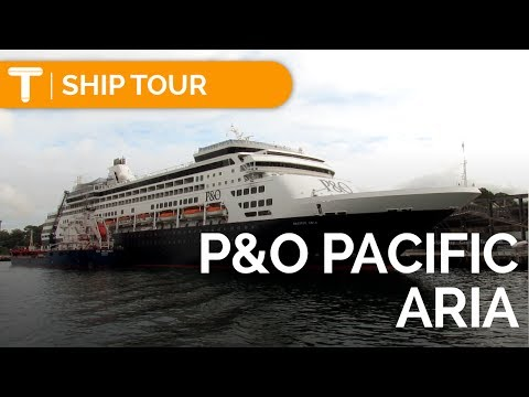Pacific Aria FULL TOUR/REVIEW - Cabin/Food/Activities