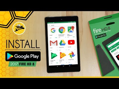 Install Google Play Store on Amazon Fire HD 8 with Alexa!