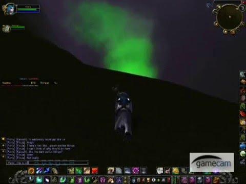 Wow exploration - strange hyjal area