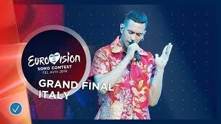 Italy - LIVE - Mahmood - Soldi - Grand Final - Eurovision 2019
