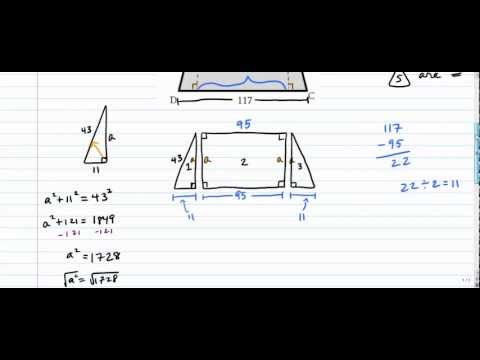 Isosceles Trapezoids - Altitudes (More Challenging)