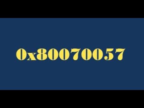 SOLVE WINDOWS INSTALL ERROR CODE 0X80070057 FIX ( in Hindi )