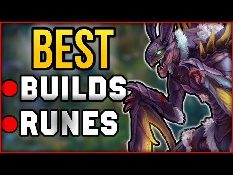 Best Kha'Zix Runes & Builds for CARRYING Season 8 League of Legends - Kha'Zix Jungle Build Guide