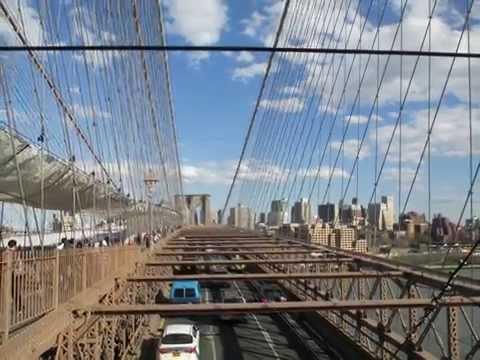 Hoboken ferry to Lower Manhattan to Brooklyn Bridge