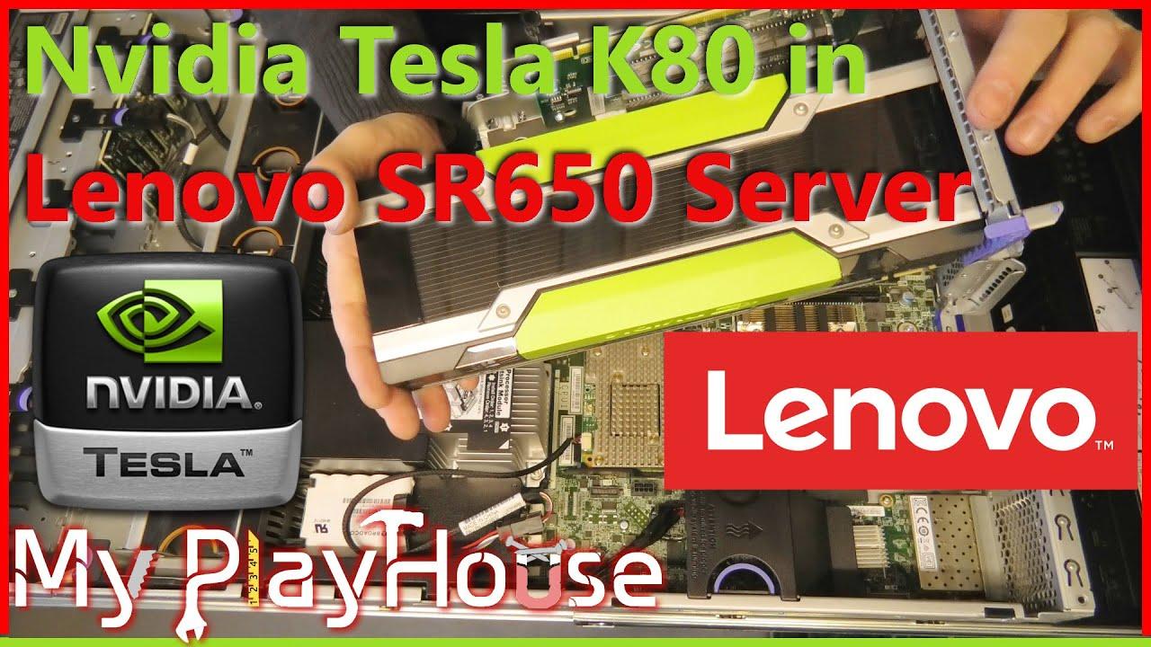 Nvidia Tesla K80 in Lenovo SR650 = Unbearable Noise - 1038