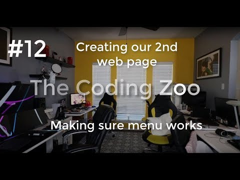 Learn HTML, CSS, and JavaScript - Creating our second web page - Lesson 12 for Beginners