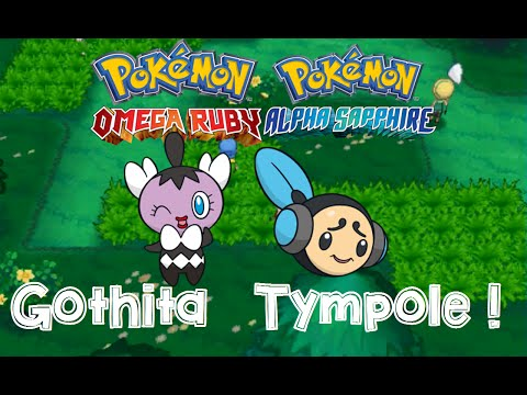 Pokemon Omega Ruby and Alpha Sapphire HOW TO CATCH/GET GOTHITA AND TYMPOLE with dexnav!