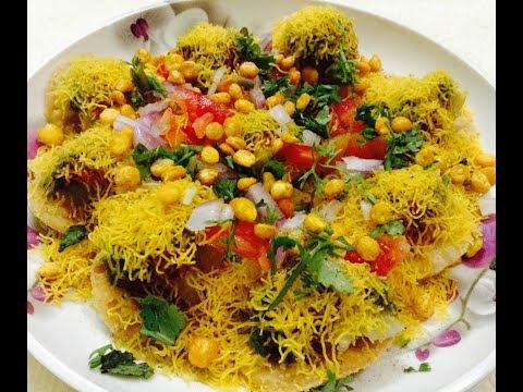 Sevpuri chaat recipe (hindi) - DOTP - Ep (108)