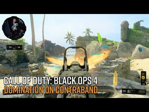 Call of Duty: Black Ops 4 Gameplay - Domination on Contraband