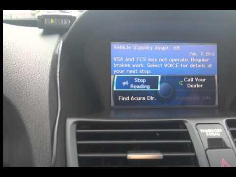 09 Acura TL Low Brake Fluid