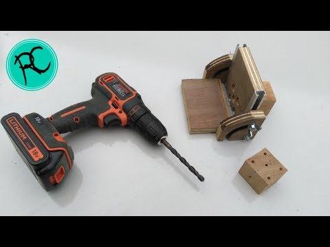 DIY universal dowel jig