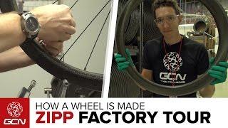 How A Zipp Carbon Fiber Wheel Is Made – Inside The Zipp Factory