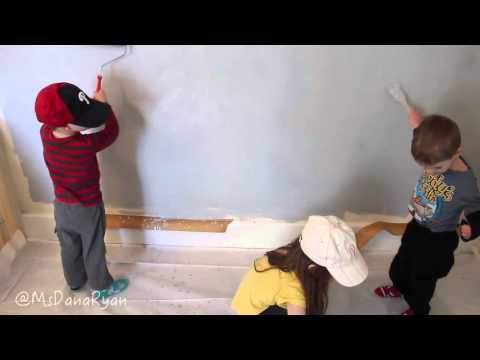 Chalkboard Paint Wall For Kids