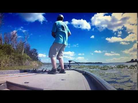 Lake griffin frog fishing