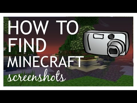 How to Find your Minecraft Screenshots (Mac)