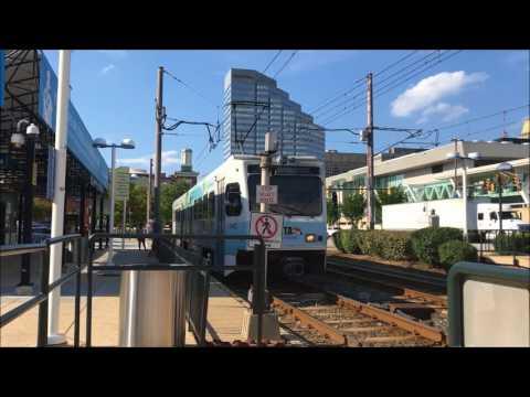 MARC & MTA Light Rail at Camden Yards