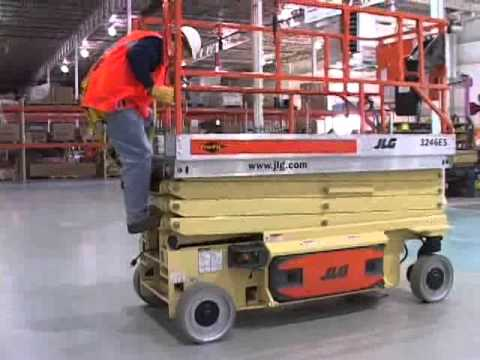 Scissor Aerial Lift Training JLG ES