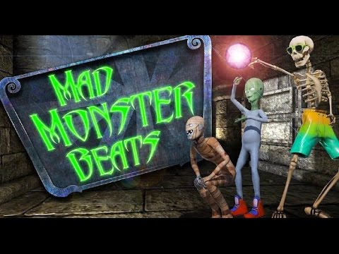 Music Game Mad Monster Beats iPad App Review Video