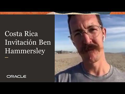 Oracle The Meeting – Costa Rica | Invitación: Ben Hammersley