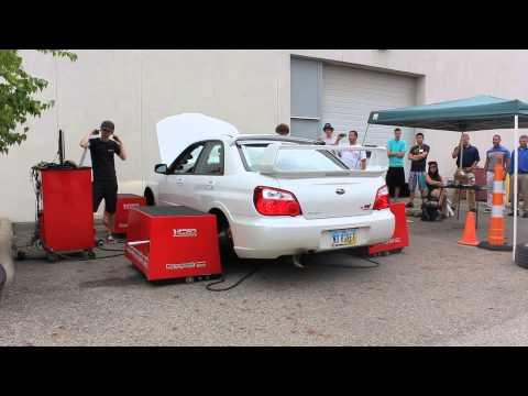 Loud 570whp STi Dyno and Turbo Spool