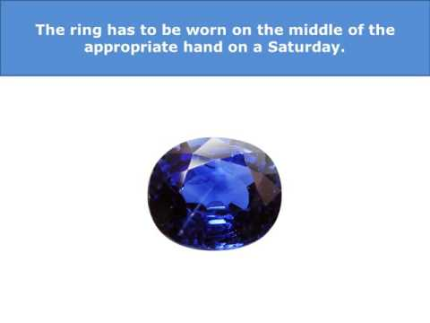 How to Wear Blue Sapphire Stone