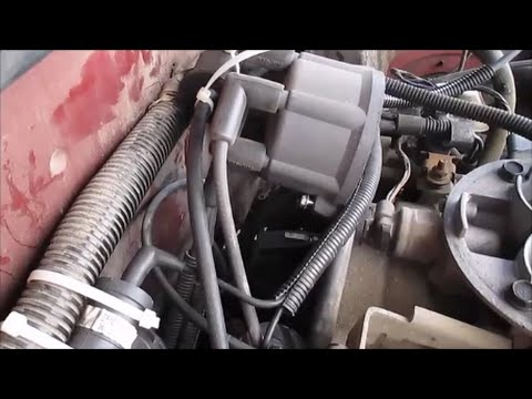How To Replace A Distributor Cap and Rotor Dodge Dakota