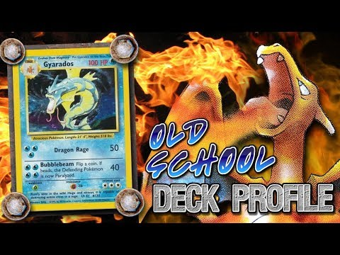 Alakazam / Gyarados - OLD SCHOOL Pokemon TCG Deck Profile - Base Set