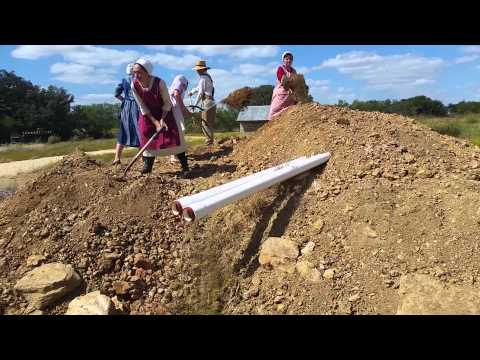 Adding Dirt on the Root Cellar