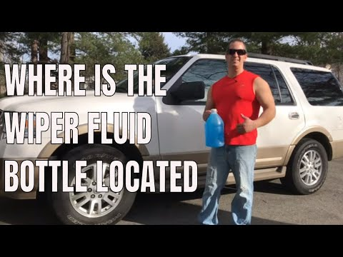 How To Fill Washer Fluid Reservoir In a Ford Expedition