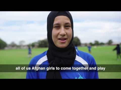 Afghan Girls Soccer - Sydney United