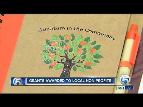Grants awarded to local non-profits