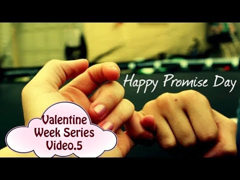 How to make promises-Promise Day ideas Video 5|Dhruvi Shah