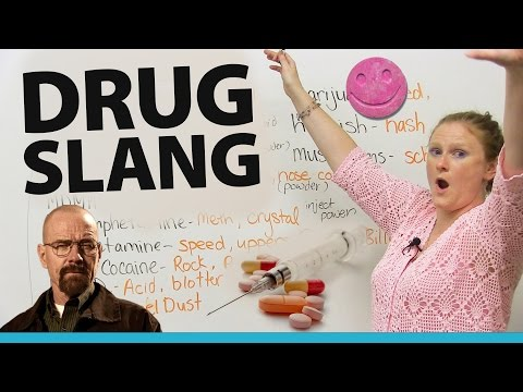 Talking about DRUGS in English