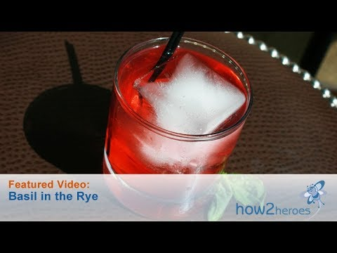 Basil in the Rye Cocktail