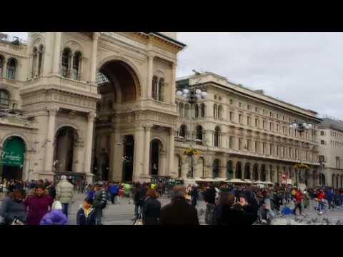 Exploring Milan City Centre - VIDEO TOUR (Milan, Italy)