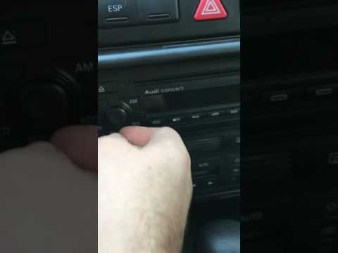 Audi A6 Radio ausbauen // HOw to remove radio from Audi A6