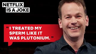 Mike Birbiglia Had To Ejaculate Into Tupperware | Netflix Is A Joke