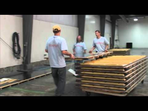 NitroPanel - Portable Floor System Wood Athletic Flooring