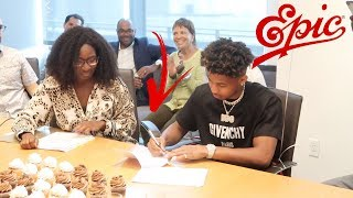 I SIGNED A MULTI-MILLION DOLLAR RECORD DEAL!! **EMOTIONAL**